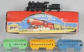 Tootsietoy 193 Railroad Set