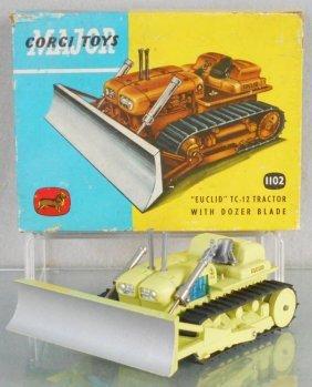 Corgi 1102 Euclid Tractor W/dozer Blade