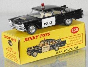 Dinky 258 Dodge Usa Police Car