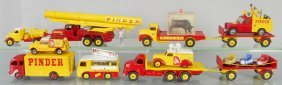 Dinky & Corgi Code 3 Pinder Circus Vehicles