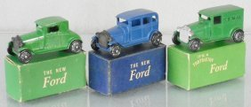 3 Tootsietoy Fords