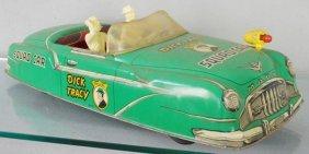 Marx Dick Tracy Squad Car