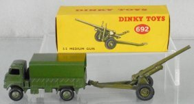 2 Dinky Military Vehicles