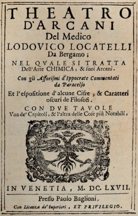 Locatelli Lodovico, 1667