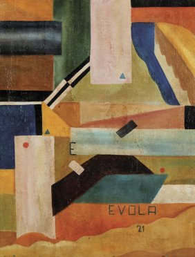 Evola Giulio Cesare, 1921