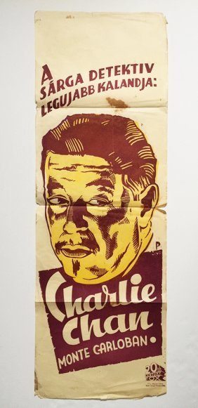Charlie Chan At Monte Carlo Movie Poster
