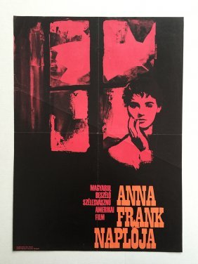 Diary Of Anne Frank, The Movie Poster