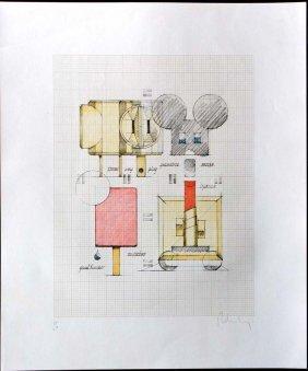 Oldenburg, Claes, American 20th C.,
