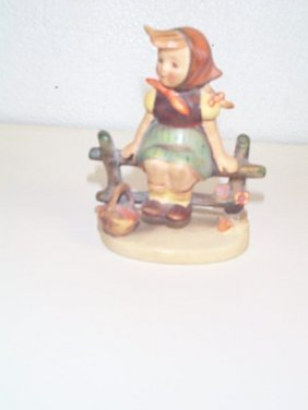 Hummel Figurine Number 112 3/0  Full Bee Mark  Trade