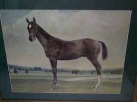 Charles Ellis  Original Watercolor Portrait Of A H