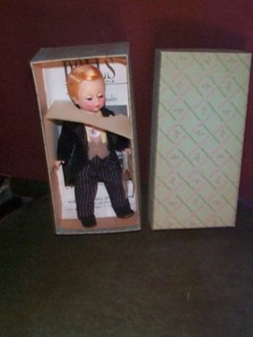 """Madame Alexander Groom Doll # 442  Measures 7"""" Tal"""