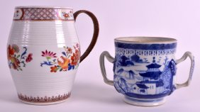 An 18th Century Chinese Export Tankard Qianlong,