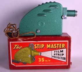 A Vintage Boxed The Stip Master 35mm Film Strip