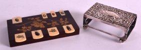 A 19th Century Japanese Meiji Period Shibayama Whist