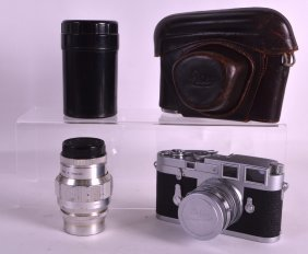 A Good Leica Ernst Leitz Wetzlar German Camera M3 No.