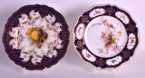 A Royal Worcester Cabinet Plate By Richard Sebright