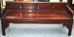 A Large Early 20th Century Chinese Carved Hardwood