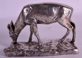 An Early 20th Century Wmf Silver Plated Model Of A