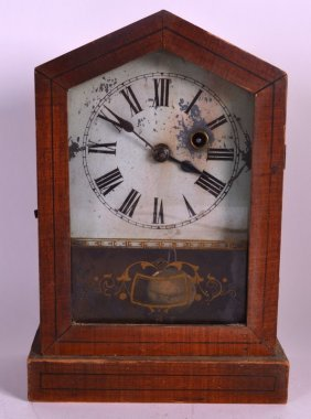 An Early 20th Century Continental Mantel Clock By The