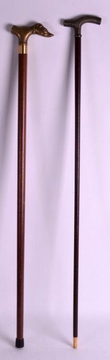 A Victorian Silver Topped Gentlemans Walking Cane