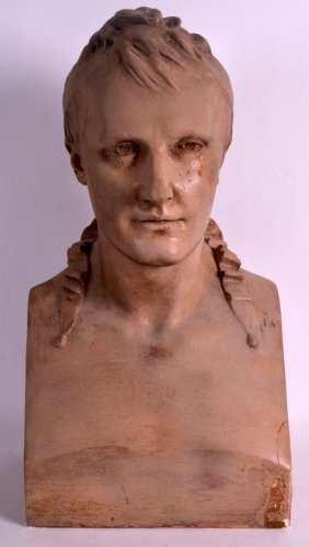 Jean Antoine Houdon (19th Century) A French Plaster