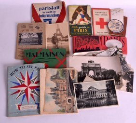 A Collection Of Vintage Postcards, Photographs Etc