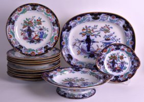 A Collecton Of Mid 19th Century English Ironstone China