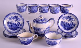 A Victorian Part Childs Tea Set. (qty)