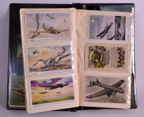 A Post Card Album Containing Numerous Cards Relating To