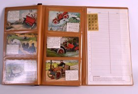 A Post Card Album Containing Numerous Comical Cards.