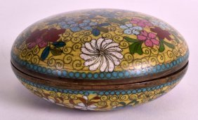 An Early 20th Century Chinese Cloisonne Enamel Rouge