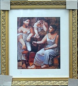 """""""three Woman At The Spring"""" By Pablo Picasso"""