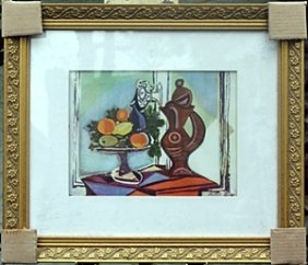 """""""still Life D"""" By Pablo Picasso"""