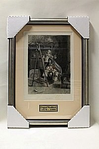 """the Critic"" By Artist J.l. Meissonier"