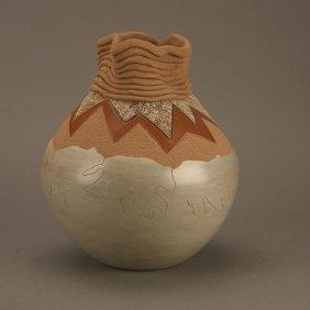 Russell Sanchez (b.1963), Untitled Pot