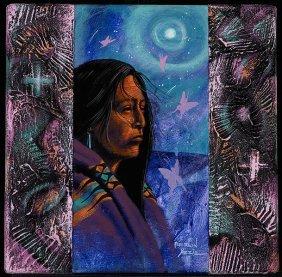 Peterson Yazzie (b.1979), Moonlight Beauty