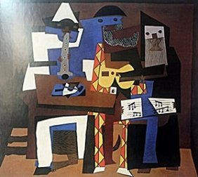 """Print """"three Musicians"""" After Pablo Picasso"""