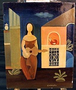 Oil On Canvas By Karen Corrino