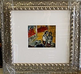 Framed Lithograph By Marc Chagall
