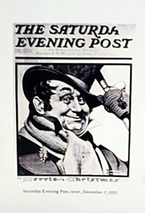 """Lithograph """"saturday Evening Post"""" By Norman Rockwell"""