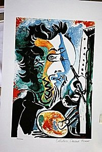 Picasso Limited Edition - The Artist - From Collection