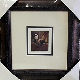 Framed Lithograph By Gerald Lubeck