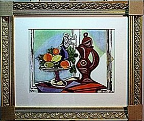Picasso - Limited Edition - Compote Dish And Pitcher By