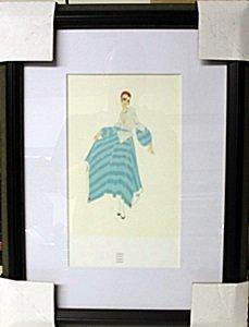 "Framed Lithograph ""premier"" By Erte"