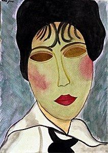 Ms Clauded 1915' - Amadeo Modiglani