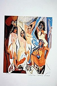 Picasso Limited Edition - Women Of Avignon - From