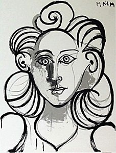 Offset Lithograph After Picasso