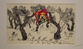 Ribemont Lithograph Miro French