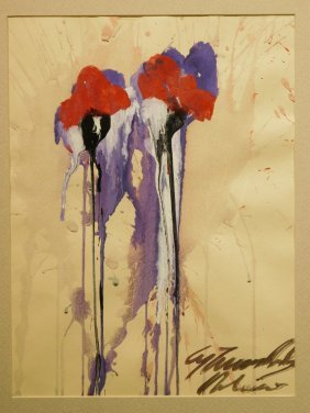 Cy Twombly: Abstract Floral