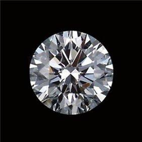 Gia Cert 0.35 Ctw Round Diamond I/vs1
